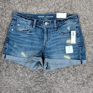 Old Navy Shorts - Old Navy Distressed Boyfriend Jeans Shorts Size 4